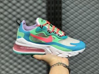 Nike Air Max 270 Wmns Electro Green/Flash Crimson-Blue Lagoon AT6174-300