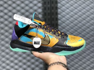 Nike Zoom Kobe 5 Prelude University Gold/Metallic Gold-Gamma Blue 639691-700