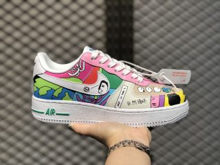 Ruohan Wang x Nike Air Force 1 Low Multi Color/Multi Color CZ3990-900