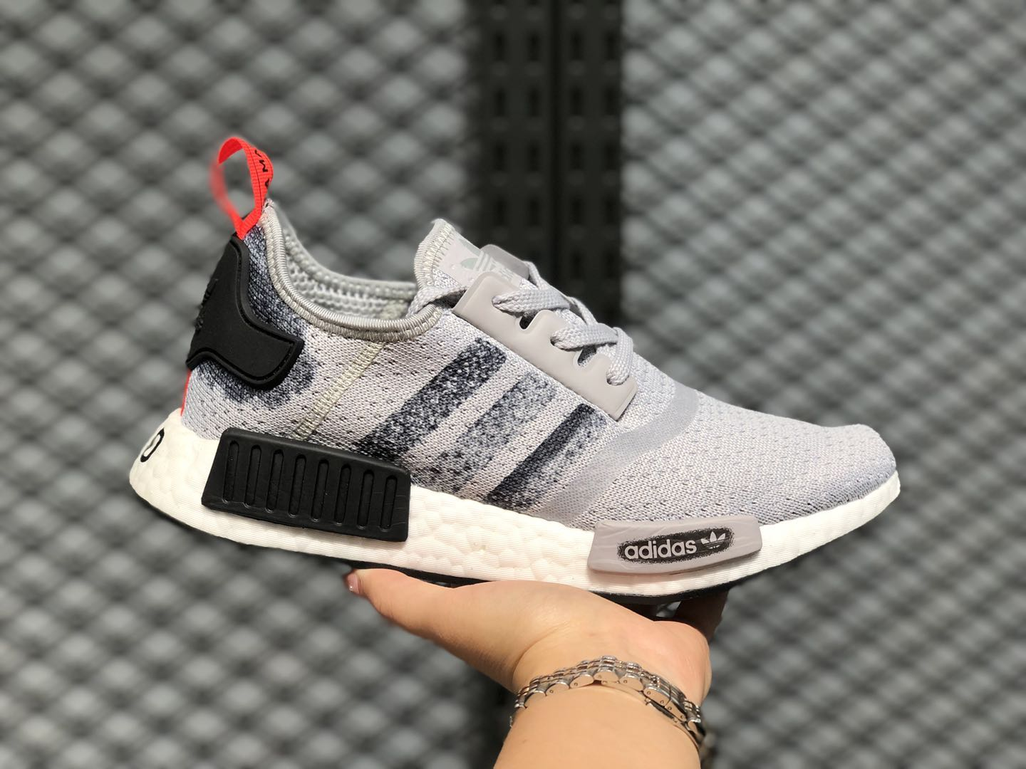 pollo precio Seminario  Best Sell Adidas Boost NMD R1 Grey/Core Black/Grey G27918 Athletic Sneakers  | Evesham-nj
