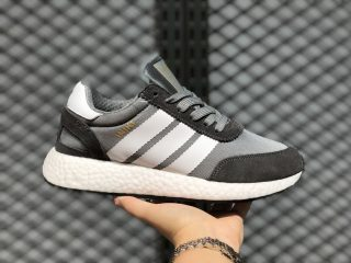 Adidas L-5923 Core Black/Grey Three-Grey Running Shoes For Sale BB2089