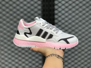 Adidas Nite Jogger Boost WMNS EG7942 Cloud White/True Pink-Core Black