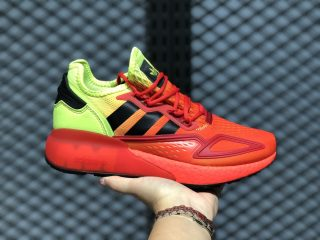 Adidas ZX 2K Boost Solar Yellow/Cloud White-Hi-Res Red FW0482