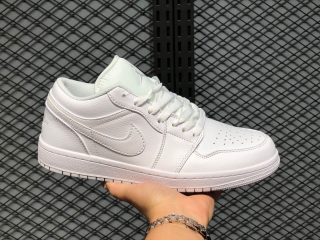 Air Jordan 1 Low 553558-112 White/White-White