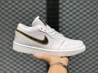 Air Jordan 1 Low Cloud White/Metallic Gold Online Sale CZ4776-100