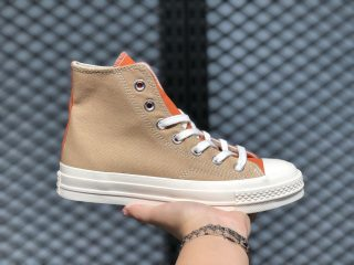 Converse Chuck 70 Hi Sand/Noble Grey/Egret 167767C Canvas Shoes