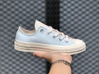 "Converse ""Tri-Panel Renew"" Mellow Rose/Egret-Light Blue Canvas Shoes"