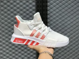 Hot Selling Adidas EQT Bask ADV White/Trace Scarlet Running Shoes FU9308