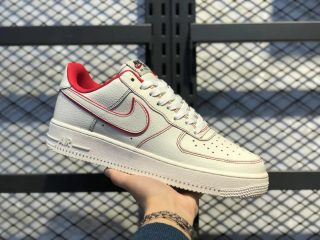 Nike Air Force 1 Custom Sail/Phantom-University Red For Sale AO2518-116