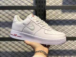 Nike Air Force 1 Jewel White/University Red Online Sale CT3438-100