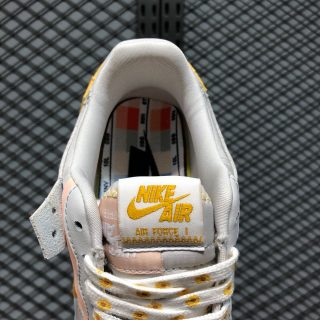 Nike Air Force 1 Shadow CQ9503-001 Vast Grey/Pollen Rise-Washed Coral-White Positive