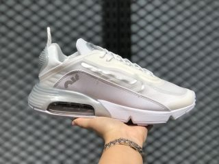 Nike Air Max 2090 White Silver Men's Sneakers For Sale CT7698-008