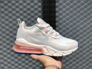 Nike Air Max 270 React Summit White/Ghost Aqua AT6174-100 For Sale