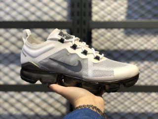 Nike Air VaporMax 2019 PRM White/Dark Grey-Lime Blast For Sale AT6810-001