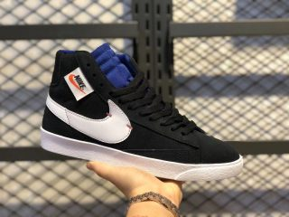 Nike Blazer Mid Rebel Black/Summit White-Deep Royal Blue BQ4022-005