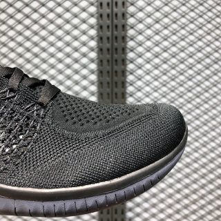 Nike Free RN 2018 Flyknit Black/Anthracite 942838-002 Side