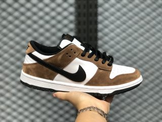 "Nike SB Dunk Low ""Trail"" White/Black-Trail End Brown 304292-102"