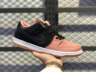 Premier x Nike SB Dunk Low Salmon Atomic Pink/Black/White 313170-603