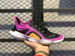 The Latest Nike Free RN 5.0 WMNS Shield Fire Pink/Silver-Black BV1224-600