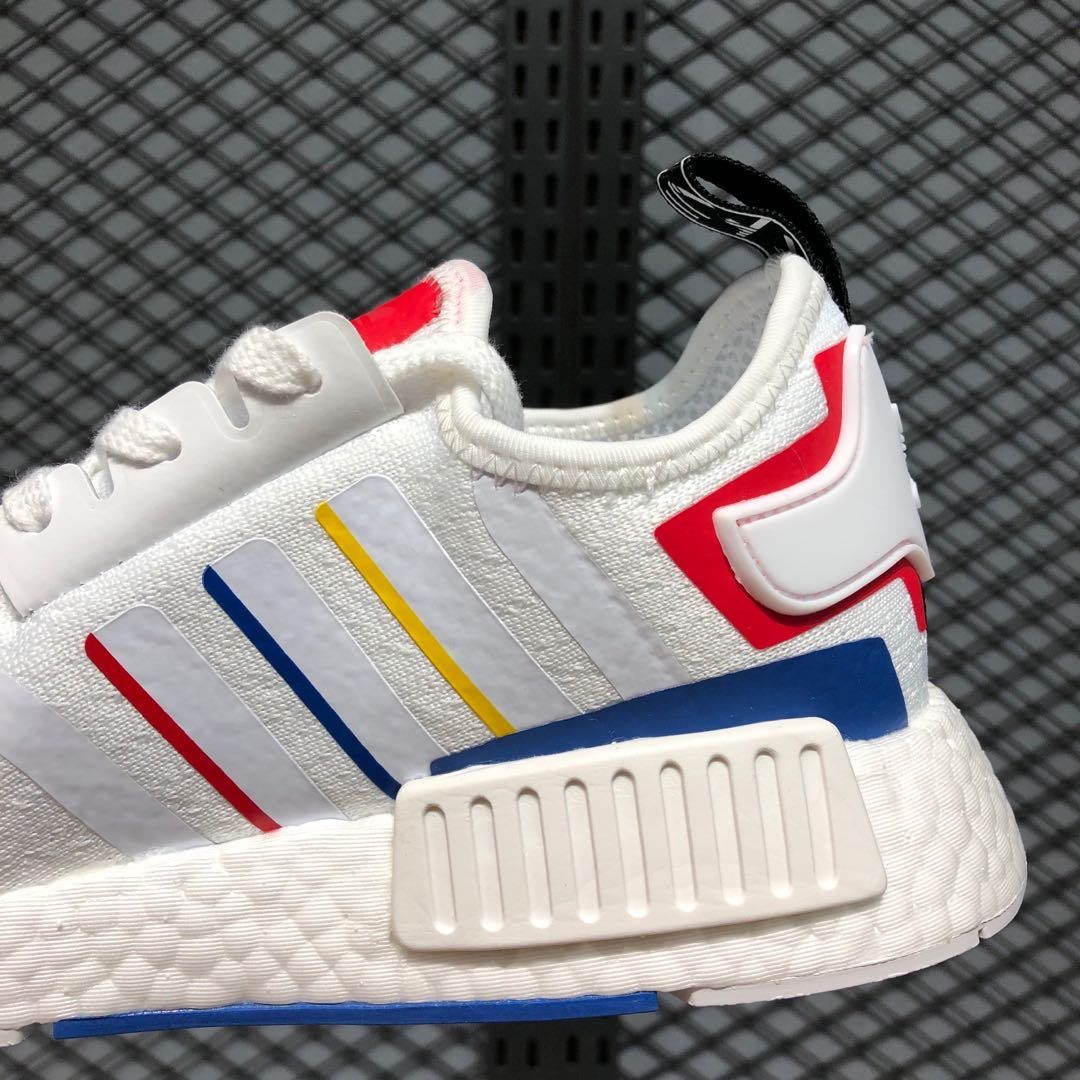 2020 adidas stock in 2014 2016 ford for sale Footwear White/Blue/Red Running Shoes FY1432