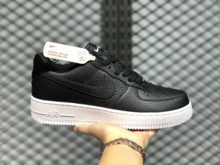 2020 Buy Nike Air Force 1 Craft Black/White Lifestyle Shoes CN2873-001