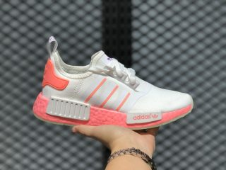 Adidas Boost NMD R1 Cloud White/Semi Flash Red/Signal Pink FY9388