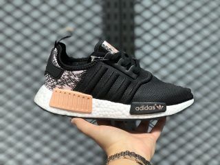"Adidas Boost NMD R1 ""Reptile Pack"" Pink Spirit Lifestyle Shoes FW5278"
