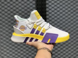 Adidas EQT Bask ADV Cloud White/Yellow-Purple For Sale FU9411