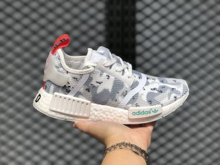 Adidas NMD R1 Cloud White/Cloud White/Solar Red For Sale G27933