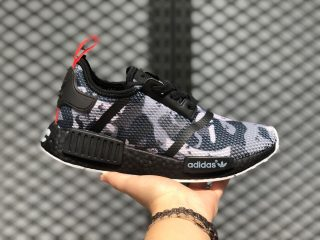 Adidas NMD R1 NYC Camo Black Running Shoes For Sale G28414