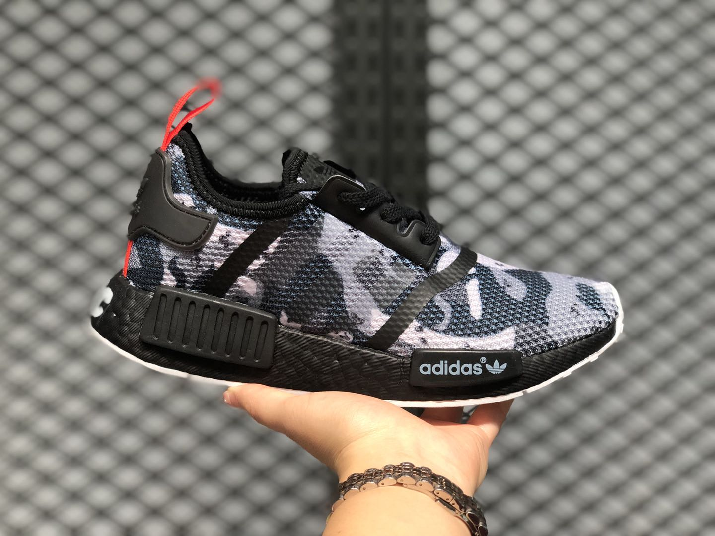 Latest Adidas Nmd R1 Nyc Camo Black Training Shoes G28414