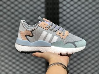 Adidas Nite Jogger Grey One/Cloud White/Pink Tint FV1328
