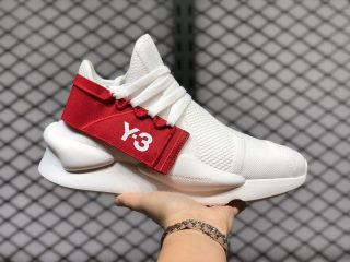 "Adidas Y-3 Kaiwa ""Knit Red"" Chunky Sneakers FV4562 For Sale"