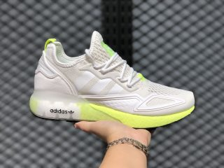 Adidas ZX 2K Boost FW0480 Cloud White/Cloud White/Solar Yellow