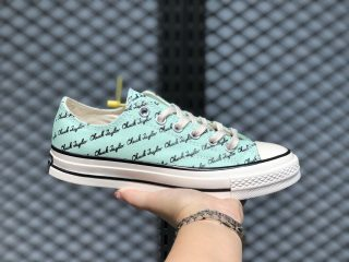 Converse Chuck 70 Signature Low Shoes Green Oxide On Sale 167699C