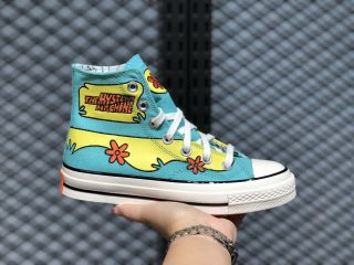 Converse x Scooby-Doo Chuck Taylor All Star 70 Blue/Yellow High Top Shoes