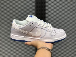 Latest Nike SB Dunk Low Premium White/White-Game Royal CJ6884-100