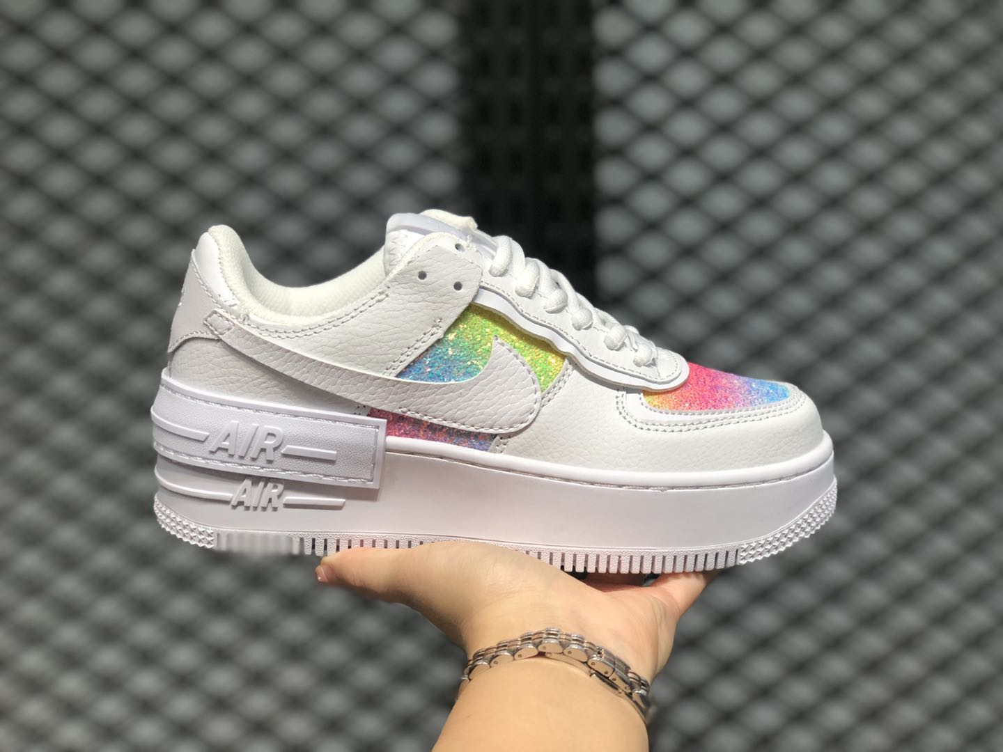 New Sale Nike Air Force 1 Low White/Barely Volt-Hyper Blue | Essensium