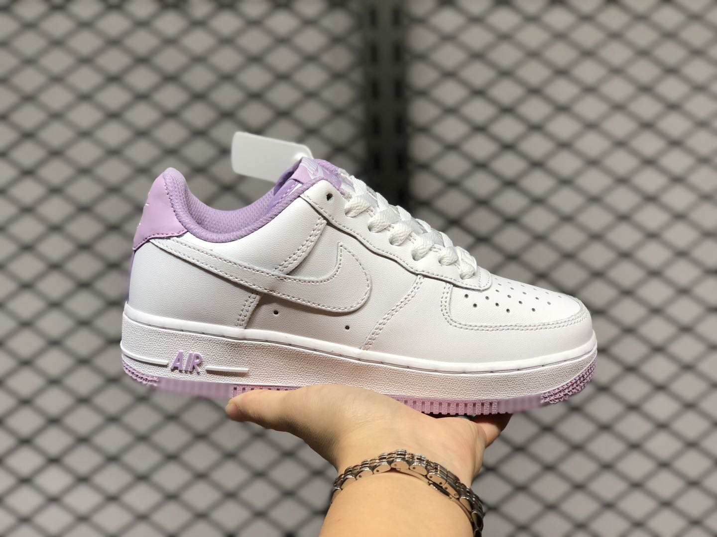Nike Air Force 1 Low CD6915-100 White/Iced Lilac Online Sale ...