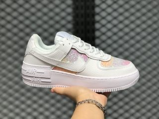 """Nike Air Force 1 Shadow """"White Easter"""" Women's Lifestyle Shoes CI0919-110"""
