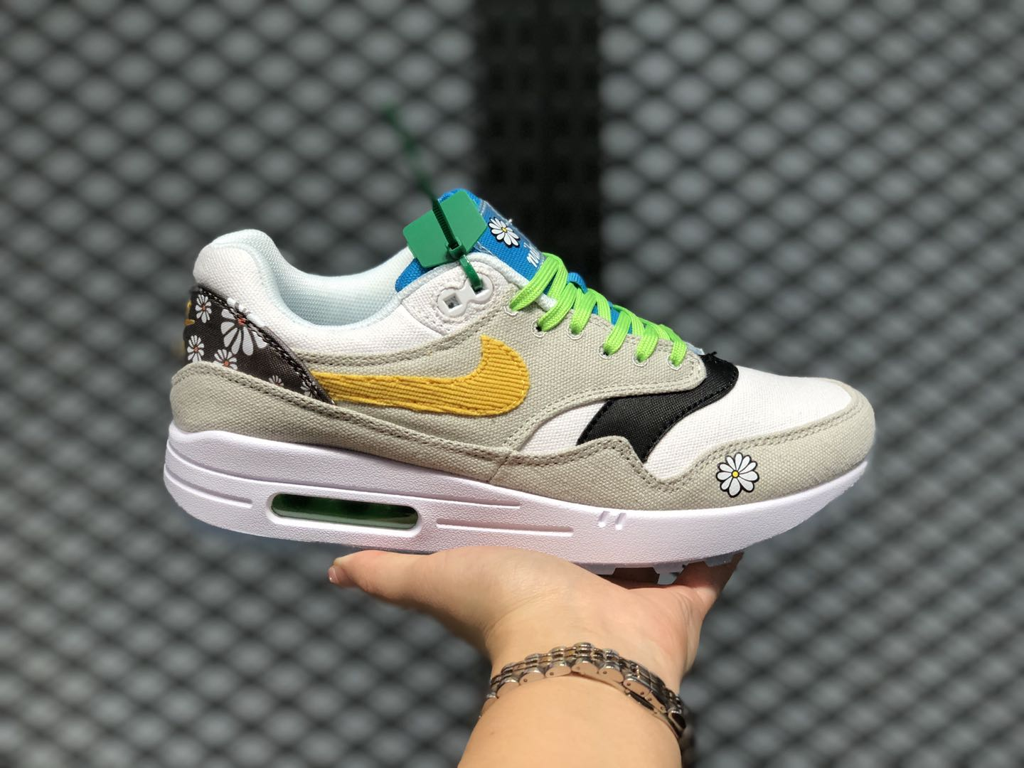 """nike air max poems for kids GS """"Daisy Pack"""" New Sale CW5861-100"""