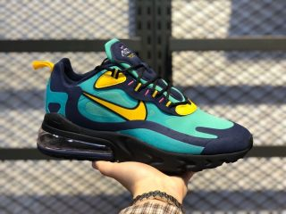 Nike Air Max 270 React AO4971-300 Electro Green/Yellow Ochre-Obsidian