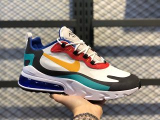 "Nike Air Max 270 React ""Bauhaus"" AO4971-002 Phantom/University Gold"