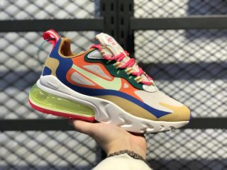 Nike Air Max 270 React Desert Sand/Barely Volt-Sail CQ4805-071