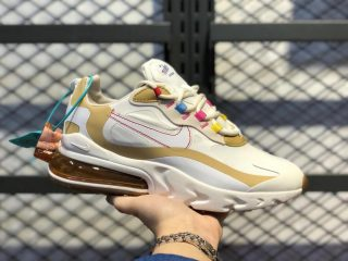 "Nike Air Max 270 React ""LA Edition"" Pale Ivory/Pale Vanilla CQ0208-101"