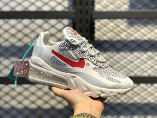 Nike Air Max 270 React White Red For Online Sale Ct2535 001