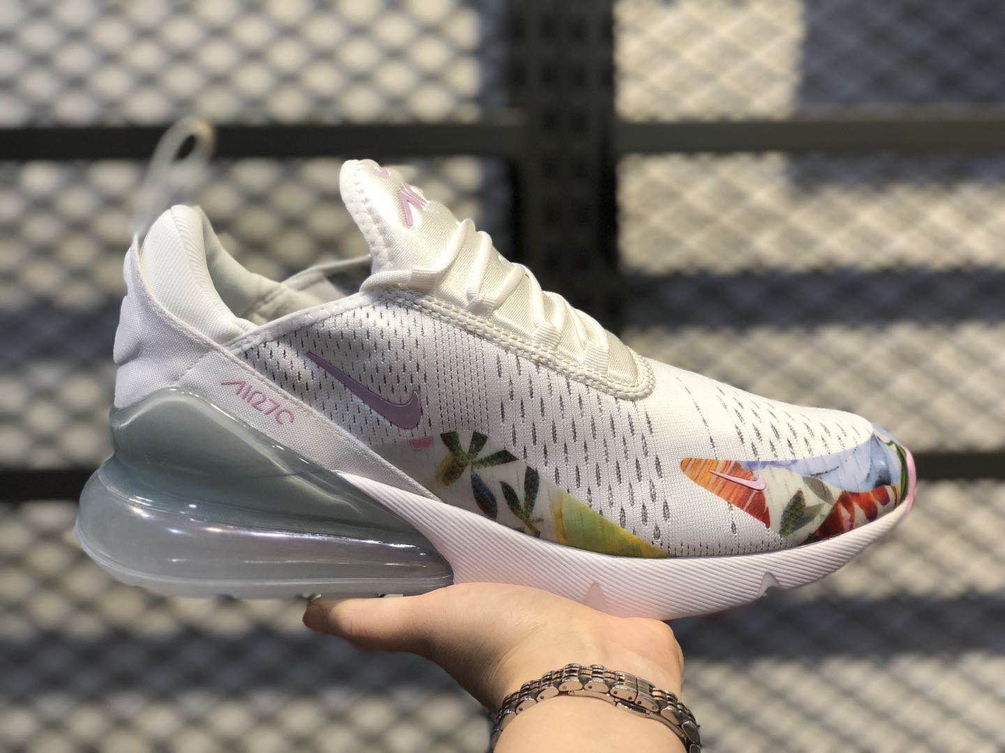 New Nike Air Max 270 Summit White Light Arctic Pink On Sale