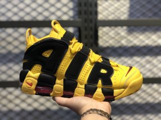 "Nike Air More Uptempo 414962-700 ""Bruce Lee"" Yellow Black"