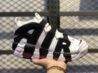 "Nike Air More Uptempo ""Bulls"" White/Black-University Red 414962-105"