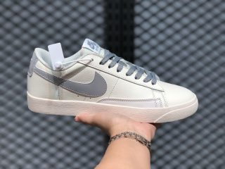 Nike Blazer Low Cloud White/Grey Six Life Casual Sport Shoes For Sale